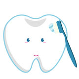 Zahnpflege des Zahnarztes Lizenzfreies Stockfoto