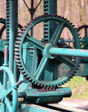 Zahnrad, Schleuse/Basel Cogwheel, zastawka -/- Zdjęcia Royalty Free