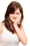 Zahnschmerzen Stockfotografie