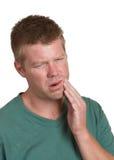 Zahnschmerzen lizenzfreie stockbilder