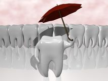 Zahnschutz stockbilder