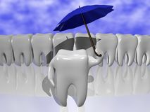 Zahnschutz Stockfotografie