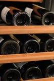 Zahnstange des Weins stockbild
