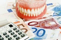 Zahnversicherung - Konzept lizenzfreie stockfotografie