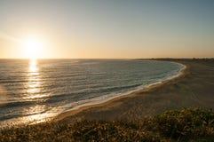 Zahora海滩 免版税库存图片