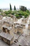 zahra för överblick för alcordoba madinat Arkivbilder
