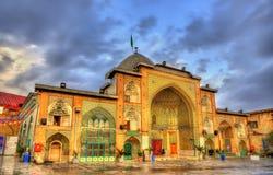 Zaid清真寺在德黑兰盛大义卖市场 免版税库存图片