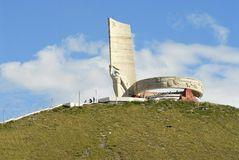 Zaisan war monument in Ulaanbaatar, Mongolia. Stock Photography