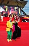 Zaitsev på Moskvafilmfestivalen Royaltyfri Fotografi