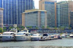 Zaitunay Bay in Beirut, Lebanon Stock Photos