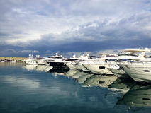 Zaitunay Bay in Beirut, Lebanon Stock Images