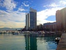 Zaitunay Bay in Beirut, Lebanon Stock Image