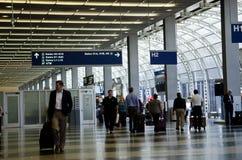 zajęczy Chicago lotniskowy zawody międzynarodowe o Zdjęcia Royalty Free