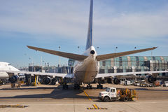 zajęczy Chicago lotniskowy zawody międzynarodowe o Zdjęcie Royalty Free