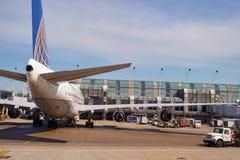 zajęczy Chicago lotniskowy zawody międzynarodowe o Fotografia Royalty Free