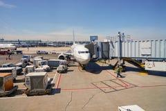 zajęczy Chicago lotniskowy zawody międzynarodowe o Zdjęcie Stock