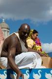 Zajęczy Krishna festiwal zdjęcie royalty free