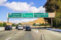 zajęty highway zdjęcia stock