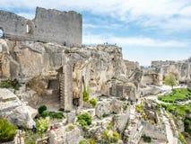 Zając ` nora w Les Provence, Francja Obraz Royalty Free