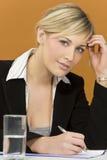 zajęty bizneswoman Obrazy Stock
