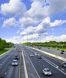 zajęty highway Obraz Stock