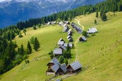 Zajamniki Planina στοκ φωτογραφία