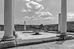 Zajecar, Сербия - 9-ое июля 2017: Историческая археологическая Стоковая Фотография