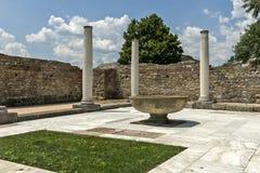 Zajecar, Сербия - 9-ое июля 2017: Историческая археологическая Стоковые Фотографии RF