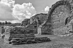 Zajecar, Сербия - 9-ое июля 2017: Историческая археологическая Стоковые Фото