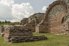 Zajecar, Сербия - 9-ое июля 2017: Историческая археологическая Стоковое Фото