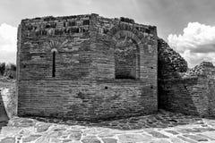 Zajecar, Сербия - 9-ое июля 2017: Историческая археологическая Стоковая Фотография RF