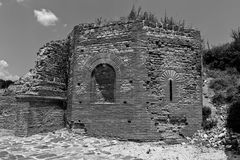Zajecar, Сербия - 9-ое июля 2017: Историческая археологическая Стоковое фото RF