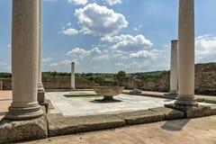 Zajecar, Sérvia - 9 de julho de 2017: O arqueológico histórico imagens de stock