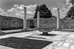 Zajecar, Sérvia - 9 de julho de 2017: O arqueológico histórico foto de stock