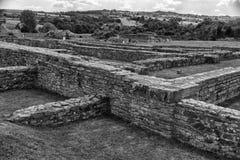 Zajecar, Serbien - 9. Juli 2017: Das historische archäologische Stockbilder