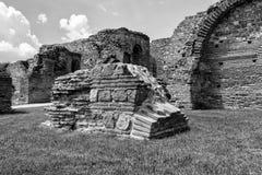 Zajecar, Serbien - 9. Juli 2017: Das historische archäologische Stockfotos