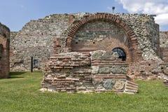 Zajecar Serbien - Juli 09, 2017: Det historiska arkeologiskt Arkivfoton