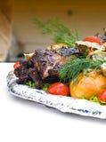 zakąska piec na grillu zdjęcia stock