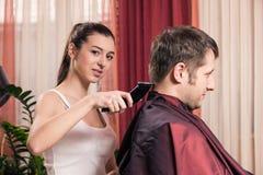 Zakład fryzjerski zdjęcie royalty free