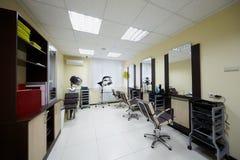 zakład fryzjerski gabinet umieszcza trzy target5864_1_ obraz royalty free