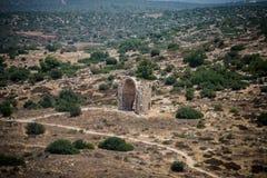 Zakład Guvrin, Izrael - kościół St Anne obrazy stock
