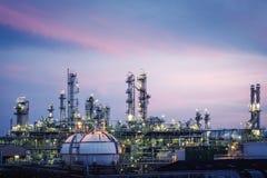 Zakład Petrochemiczny zdjęcie stock