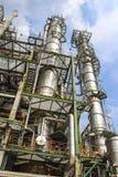 Zakład petrochemiczny obrazy stock