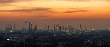 Zakład Petrochemiczny, Chiny zdjęcia stock