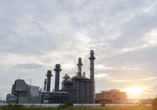 zakładu przemysłowego moc Zdjęcie Stock