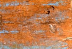 Zakłopotana drewniana tło tekstura Obrazy Stock