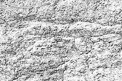 Zakłopotanego halftone grunge czarny i biały wektorowa tekstura ilustracja wektor