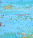 Zakłopotany Błękitny tło Obrazy Stock