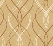 Zakłopotany tło z abstrakcjonistycznym bezszwowym geometrycznym falistym patt Obraz Royalty Free
