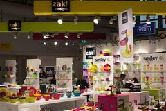 ZAK! Designs at Ambiente Exhibition in Franfkurt Stock Photography